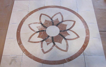 Photo Gallery Waterjet Cutting Services By HydroLazer - Ceramic tile cutting service