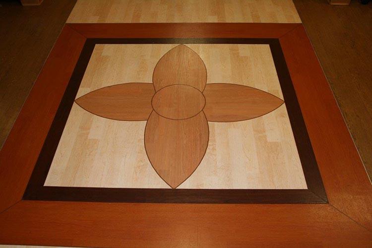 Innovative Laminate Flooring Inlays By Hydro Lazer