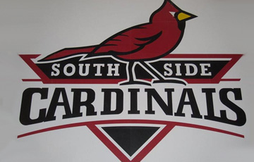 south side cardinals logo by hydro lazer